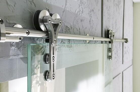 Interior Glass Barn Door Kit Premium Sliding Doors Pty Ltd