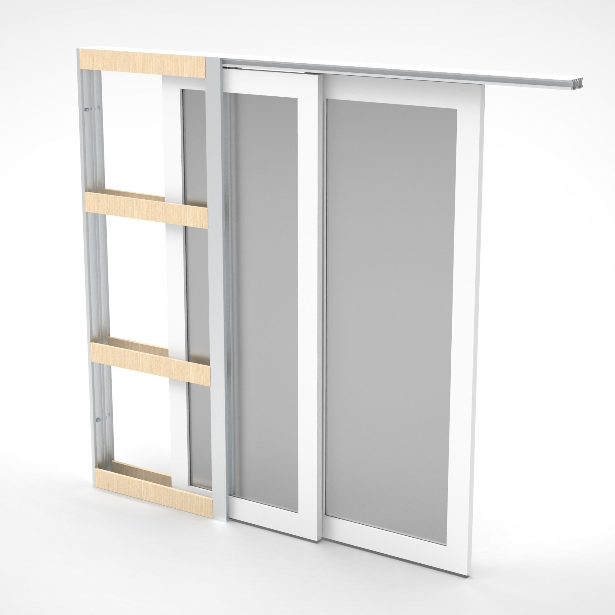 Telescopic Cavity Sliding Door System Premium Sliding